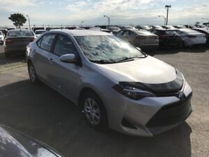 2017 Toyota Corolla A/C BLUETOOTH