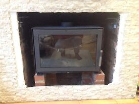 Log burner 7-8 kW