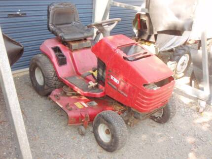 Toro 16.44 HXL Wheel Horse ride on automatic mower goes needs TLC