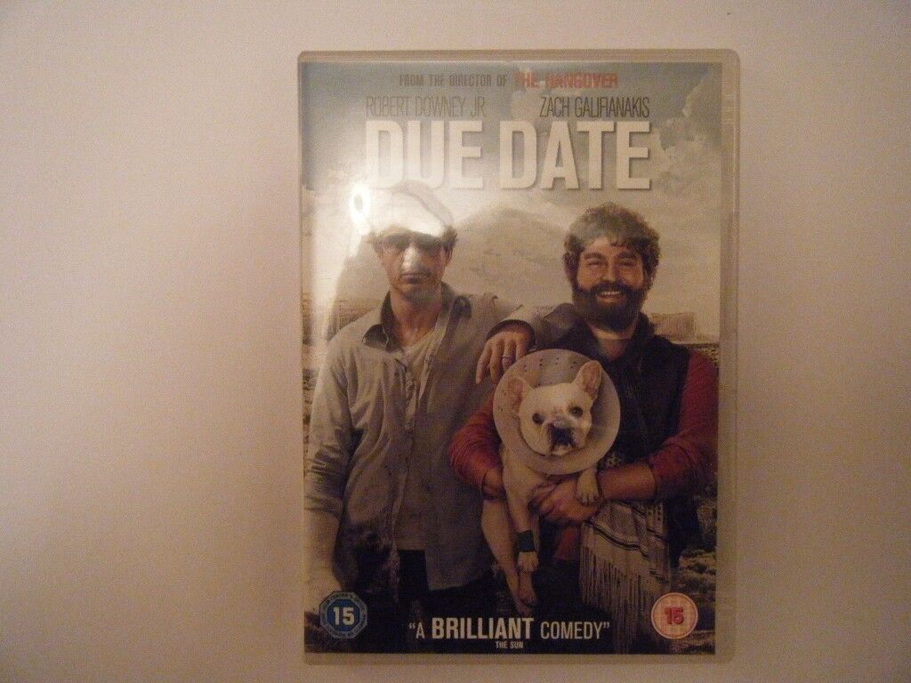Due Date. DVD ,Used in very good condition
