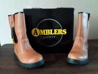 Ambler Rigger safety Boots Size 8