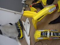 rmz 450 08-17 fairings/plastics some with graphics and extras