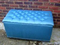 LARGE BLUE TOY BOX