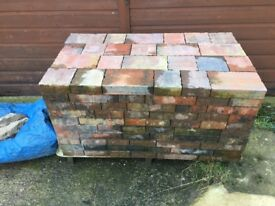 Block paving, unused 240 blocks