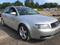 Audi A4 Avant Tdi Quattro Estate 2003. Fab Specification