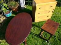 3 x pieces of old furniture upcycle