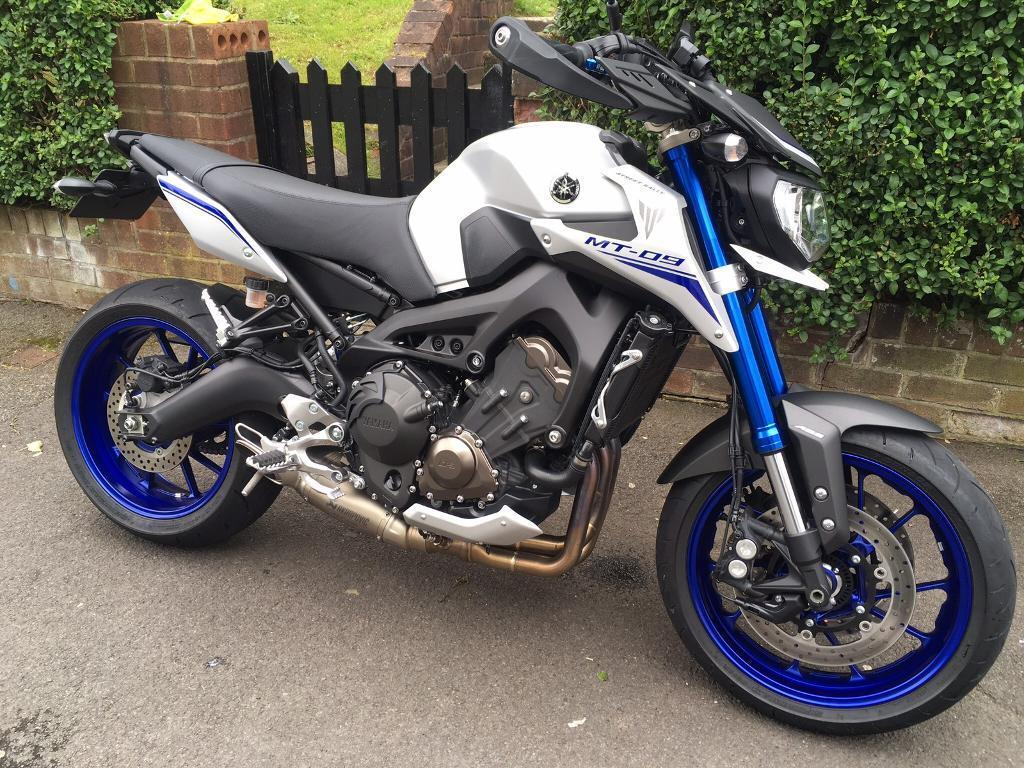 yamaha mt09 street rally in trafford manchester gumtree. Black Bedroom Furniture Sets. Home Design Ideas