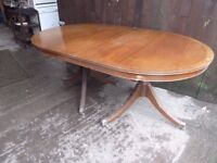 Curved Dining Table no Chairs Delivery Available £10