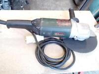 "Metabo 9"" angle grinder W21230"