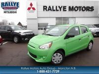 2015 Mitsubishi Mirage ES $9,998* or $84 Bi, 10 Yr Warranty