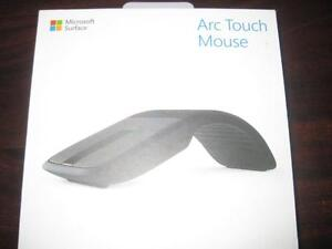 Microsoft Arc Touch Mouse Surface Edition. Bluetooth. Hand Curve Shape. Work with PC / Laptop / Notebook / Computer. NEW