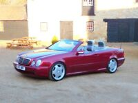 Mercedes-Benz CLK 3.2 CLK320 Avantgarde 2dr 55 AMG UPGRADES +FACTORY BODY STYLING