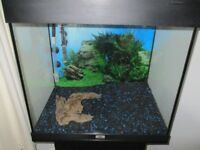 JUWEL TROPICAL FIST TANK AND STAND