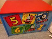 Thomas Tank Engine large wooden toy box
