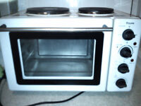 Royale worktop oven with hob