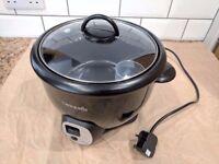 Crock-Pot 1.8 L Sauté Rice Cooker, (Black)