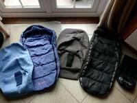 Quinny buzz seat liners & footmuffs