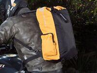 Autokicker Roll Rucksack (Waterproof) Back Pack For Motorcycles & Motorbikes......Brand NEW