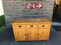 Solid oak sideboard * free furniture delivery *