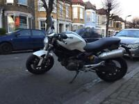 Ducati Monster 696+ 2008 Pearl White