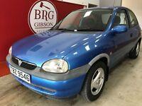 Vauxhall Corsa (blue) 1998