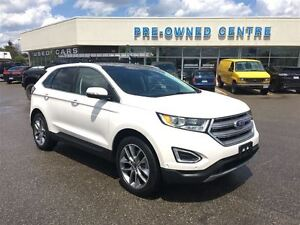 2016 Ford Edge AWD, PANROOF, 20'S, NAV, HTD STEER WHL!