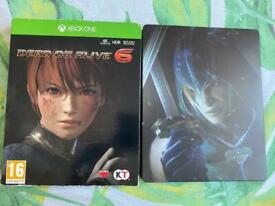 Dead or alive 6 xbox one & series x