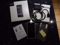 Sony Experia Z1 Compact , open to ll networks , working with box and accessories
