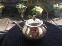 SMALL BRASS DECORATIVE TEA POT
