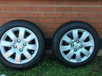 4x partworn tyres 4x108 dimensions