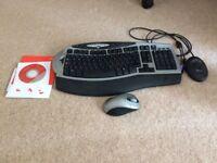 Microsoft wireless desktop set
