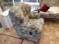 Lazy Boy Extending Reclining Armchair