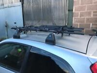Cycle rack carrier roof mount