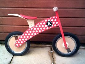 Child's Balance Bike for Sale. Good condition, buyer to collect.