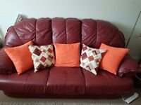 3 seater and single sofa for sale for £40. Free delivery within bristol and until tomorrow only
