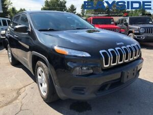 2016 Jeep Cherokee Sport |4X4 | BLUETOOTH