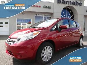 2016 Nissan Versa Note SV - BLUETOOTH - CAMERA DE RECUL - AUTOMA