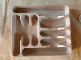 Cutlery drawer trays storage x2
