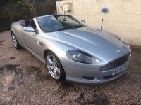 ASTON MARTIN (WITH DRIVER) FOR HIRE (2006 Aston Martin DB9 Volante, 6.0 V12 Convertible)