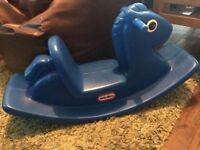 Little Tikes Blue Rocker / Rocking Horse
