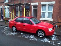 for sale hyundai accent 2002 1.5 very good condyton drive super £225