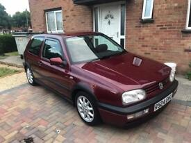 LOW MILEAGE MK3 golf gti 8v