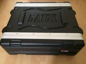Gator 3RS 3U Shallow Rack Case , boxed, excellent condition.
