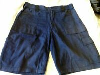 "Mens Dickies work shorts size 32"" Navy and Black."