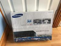 Samsung smart 3D blu ray player with 500 gb hard disk for recording +Freeview *New*