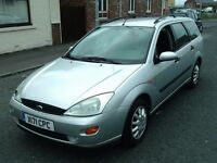 2000 X FORD FOCUS 1.6 GHIA ESTATE ** LEFT HAND DRIVE ** 30 STAMPS IN SERVICE BOOK **