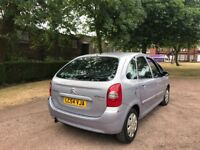 CITROEN PICASSO 2.0 HDI 90 BHP 54 REG TIMING BELT REPLACED MOT FEBRUARY 18TH 2019 EXCELLENT ON FUEL