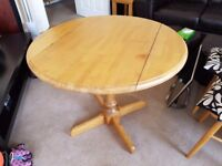 John Lewis Round Dining Table & 3 Chairs