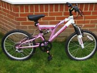 Child's bike - Mint condition (Hardly Ever Used) ideal for a child moving on to their 2nd bicycle
