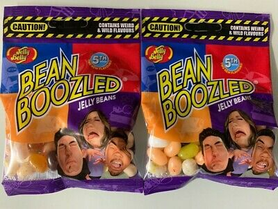 2x Jelly Belly Bean Boozled Beans Tüte 54g Bertie Botts Harry Potter 5th edition ()
